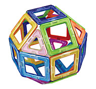 cheap -Magnetic Blocks Toys Round Square Classic Theme Hand-made Transformable ABS Boys Girls 20 Pieces