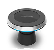 Недорогие -Автомобильное зарядное устройство Беспроводное зарядное устройство Телефон USB-зарядное устройство USB Беспроводное зарядное устройство Qi