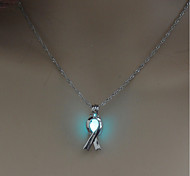 cheap -Women's Shape Illuminated Cool Pendant Necklace , Luminous Stone Alloy Pendant Necklace Birthday Gift Costume Jewelry