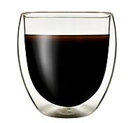 cheap -Drinkware High Boron Glass Glass Double Wall Heat-Insulated 1pcs