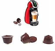 baratos -1pç Plástico Café e chá Gadget de Cozinha Criativa , 5.4*5.4*4