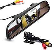 """economico -4,3"""" TFT-LCD CCD Kit di retrovisione per auto Visione notturna per Auto"""