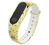 baratos -Pulseiras de Relógio para Mi Band 2 Xiaomi Pulseira Esportiva Silicone Tira de Pulso