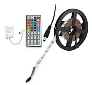 cheap -ZDM® 300 LEDs 5M LED Strip Light 1 44Keys Remote Controller RGB Cuttable DC 12V