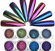 cheap -1pc Glitters Nail Glitter Chameleon Nail Glitter Glitter Powder Powder Nail Art Design