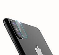 cheap -Screen Protector Apple for iPhone X Tempered Glass 1 pc Back Protector Scratch Proof High Definition (HD)