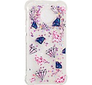 cheap -Case For Motorola MOTO E4 Shockproof Flowing Liquid Pattern Back Cover Geometric Pattern Soft TPU for Moto G5s Moto E4