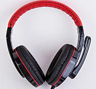 Недорогие -ditmo CY-519 Головная повязка Проводное Наушники динамический пластик Игры наушник С микрофоном наушники