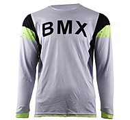 cheap -2017 summer wisdom leaves motorcycle cross-country jersey own mountain bike HD downhill cross-country jersey outdoor sports long-sleeved T-shirt quick