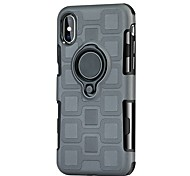 cheap -Case For Apple iPhone X iPhone 8 Shockproof with Stand Ring Holder Back Cover Armor Hard TPU for iPhone X iPhone 8 Plus iPhone 8 iPhone 7