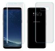 abordables -Protector de pantalla Samsung Galaxy para S8 Hidrogel de TPU 2 pcs Protector de Pantalla Posterior y Frontal Autocuración Borde Curvado 3D