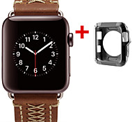 cheap -Watch Band for Apple Watch Series 3 / 2 / 1 Apple Modern Buckle Nylon Genuine Leather Wrist Strap