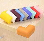 Недорогие -4 шт. Сплошной цвет губка стол угловые бамперы детская защитная крышка
