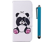 cheap -Case For Samsung Galaxy J7 (2017) J5 (2017) Card Holder Wallet with Stand Flip Magnetic Full Body Cases Panda Hard PU Leather for J7