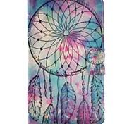 economico -Custodia Per Samsung Galaxy Tab 3 Lite Porta-carte di credito Con supporto Con chiusura magnetica Fantasia/disegno Integrale Cacciatore