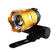 Недорогие -800lm t6 велосипед свет три режима zoomable ночь верхом usb перезаряжаемый водонепроницаемый