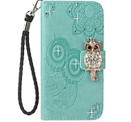 cheap -Case For Samsung Galaxy A8 2018 A8 Plus 2018 Card Holder Wallet with Stand Flip Pattern Full Body Cases Owl Hard PU Leather for A5(2018)