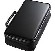 Недорогие -Сумка для хранения Однотонный Ткань для 96 Capacity CD DVD Case