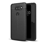 cheap -Case For LG V30 Q6 Shockproof Back Cover Solid Color Soft TPU for LG V30+ LG V30 LG Q6 LG G6