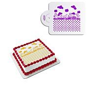 Недорогие -1шт Прочее Для торта Для приготовления пищи Посуда Торты Другие материалы Своими руками Свадьба Высокое качество Креатив Новое поступление