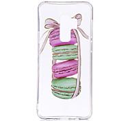 Недорогие -Кейс для Назначение SSamsung Galaxy S9 S9 Plus IMD С узором Прозрачный Body Кейс на заднюю панель Продукты питания Мягкий ТПУ для S9 Plus