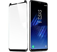 cheap -Screen Protector Samsung Galaxy for S9 Tempered Glass 1 pc Front Screen Protector 3D Curved edge Anti-Fingerprint Scratch Proof Ultra