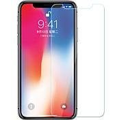 Недорогие -Защитная плёнка для экрана Apple для iPhone X Закаленное стекло 1 ед. Защитная пленка для экрана Взрывозащищенный Уровень защиты 9H