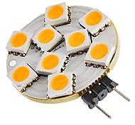 Недорогие -SENCART 1шт 1,5 Вт 270 lm G4 Двухштырьковые LED лампы T 9 светодиоды SMD 5050 Декоративная Тёплый белый DC 12 В