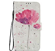 cheap -Case For Motorola MOTO Z2 play Card Holder Wallet with Stand Flip Magnetic Full Body Cases Flower Hard PU Leather for Moto Z2 play Moto