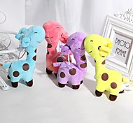 Недорогие -1PCS 18cm Rainbow Giraffe Жираф Мягкие и плюшевые игрушки Милый / утонченный Ткань Универсальные Подарок 1 pcs