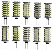 Недорогие -10 шт. 2 Вт. 200 lm G4 Двухштырьковые LED лампы T 1 светодиоды SMD 3528 Декоративная Тёплый белый Холодный белый DC 12 В