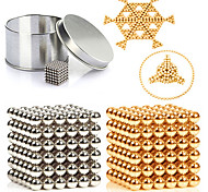 cheap -216 pcs 3mm Magnet Toy Magnetic Balls / Building Blocks / Puzzle Cube Metalic / Magnet Magnetic Unisex Adults Gift
