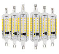 cheap -YWXLIGHT® 6pcs 6W 500-600lm R7S LED Corn Lights 60 LED Beads SMD 2835 Warm White Cold White 110-130V 220-240V