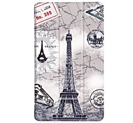 cheap -Case For Lenovo Tab 7 Essential with Stand Origami Full Body Cases Geometric Pattern Owl Eiffel Tower Hard PU Leather for Lenovo Tab 7