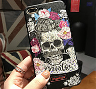 cheap -Case For Apple iPhone X iPhone 7 Plus Pattern Embossed Back Cover Cartoon Soft TPU for iPhone X iPhone 8 Plus iPhone 8 iPhone 7 Plus