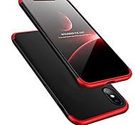 cheap -Case For Apple iPhone X iPhone 8 Ultra-thin Back Cover Solid Color Hard PC for iPhone X iPhone 8 Plus iPhone 8 iPhone 7 Plus iPhone 7