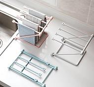 preiswerte -1set Netze & Halter Sonstiges Zubeh?r Plastik Kreative Küche Gadget Lagerung Küchenorganisation