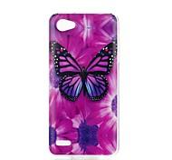 cheap -Case For LG V30 Q6 Pattern Back Cover Butterfly Soft TPU for LG X Style LG X Power LG V30 LG Q6 LG K10 LG K8