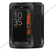 cheap -Case For Sony Xperia XZ Water/Dirt/Shock Proof Full Body Cases Solid Color Hard Metal for Sony Xperia XZ