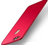 abordables -Funda Para Huawei P10 Lite P10 Ultrafina Funda Trasera Color sólido Dura El plastico para P10 Plus P10 Lite P10 Huawei P9 Plus Huawei P9