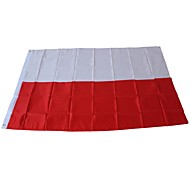 cheap -Holiday Decorations Sports Events World Cup national flag World Poland 1pc