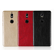 cheap -Case For Nokia Nokia 9 Nokia 6 2018 Embossed Back Cover Solid Colored Hard PU Leather for Nokia 9 Nokia 8 Nokia 7 Nokia 6 2018 Nokia 6