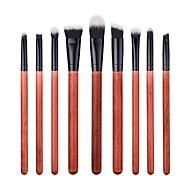 cheap -9pcs Professional Makeup Brushes Makeup Brush Set / Powder Brush / Eyeshadow Brush Synthetic Hair Eco-friendly / Professional / Soft Wood