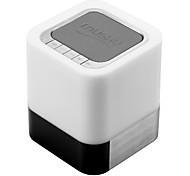 Недорогие -Портативные Светодиодная лампа С поддержкой карт памяти Bluetooth 3.0 3.5 мм AUX Беспроводные колонки Bluetooth Черный
