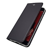cheap -Case For Xiaomi Mi 6 Mi 5X Card Holder with Stand Flip Magnetic Full Body Cases Solid Colored Hard PU Leather for Xiaomi Redmi Note 5A