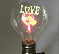 cheap -1pc 2W E26/E27 G80 Warm White 2200-2800k K Retro Decorative Incandescent Vintage Edison Light Bulb 220-240V