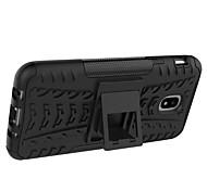 cheap -Case For Samsung Galaxy J7 V J7 Max Shockproof with Stand Armor Back Cover Tile Armor Hard PC for J7 V J7 Prime J7 Max J7 (2017) J7