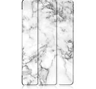 abordables -Funda Para Huawei MediaPad MediaPad M5 8 con Soporte Magnética Origami Diseños Funda de Cuerpo Entero Mármol Dura Cuero de PU para