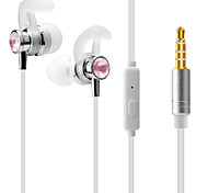 cheap -J1 In Ear Audio IN Headphones Dynamic Aluminum Alloy Sport & Fitness Earphone Headset