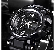 cheap -SHIFENMEI Men's Digital Sport Watch Japanese Calendar / date / day Water Resistant / Water Proof Large Dial Casual Watch Anchor Plastic